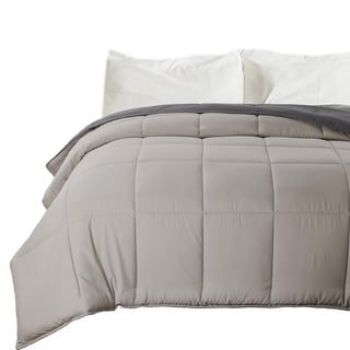 Photo of Down Alternative Comforter Reversible Microfiber Comforter Duvet | Overstock.com Shopping – The Best Deals on Comforters & Duvet Inserts