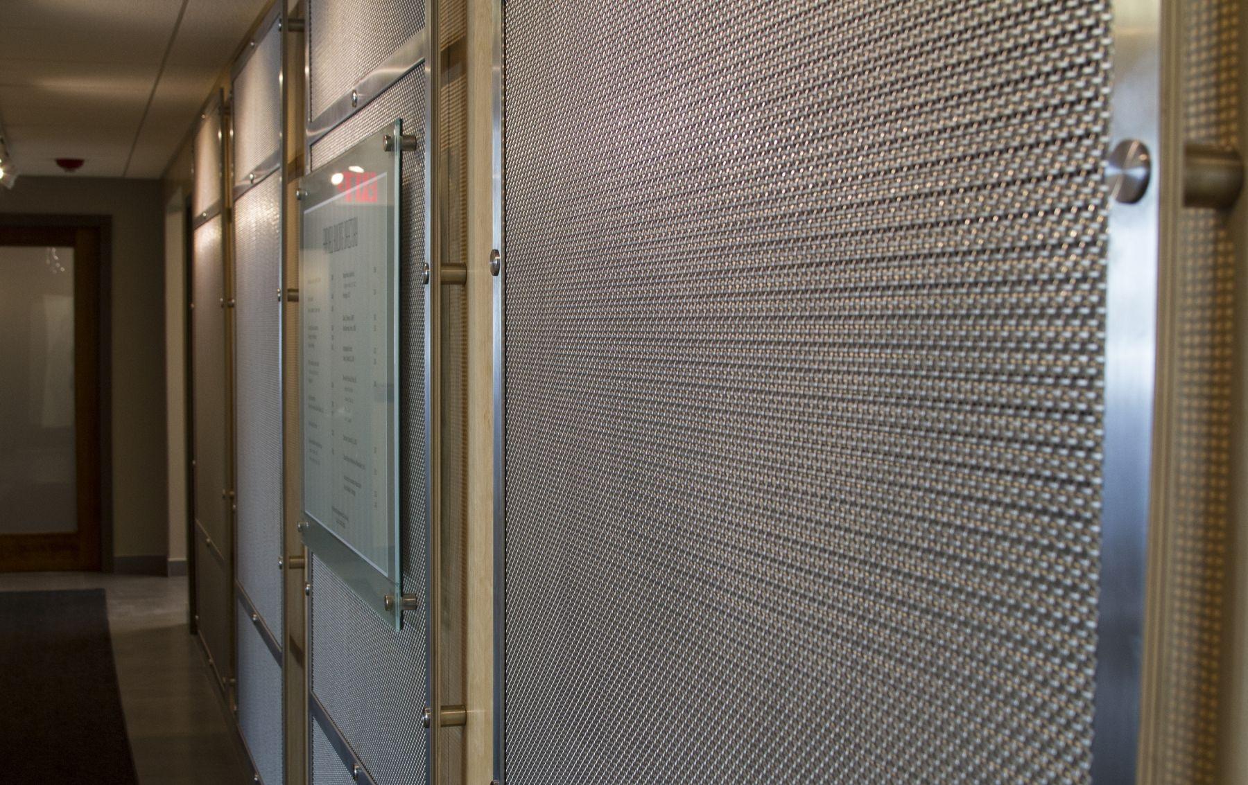 Woven Wire Walls - WIRE Center •
