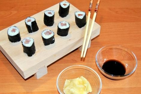 Tekka Maki Sushi Chinskie Przepisy Orientalny Serwis Sushi Foods To Eat Eat