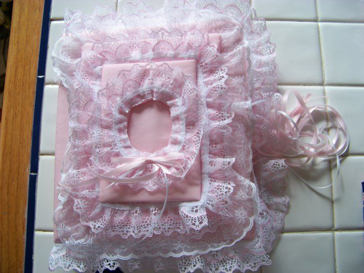 Baby Girl Fabric Photo Album Dainty Thangs I Have Made Album