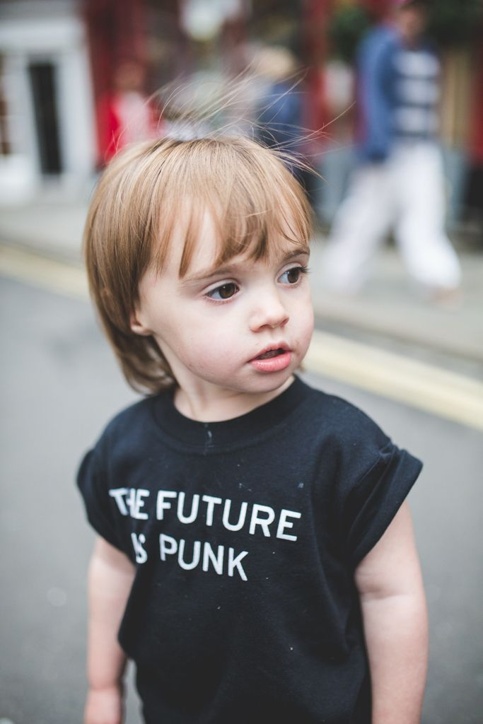 88aad7ac868e The Future Is Punk Kids T-Shirt by PMUK - Alternative and Punk rock kids  can rock with their parents in some matching twinning action.