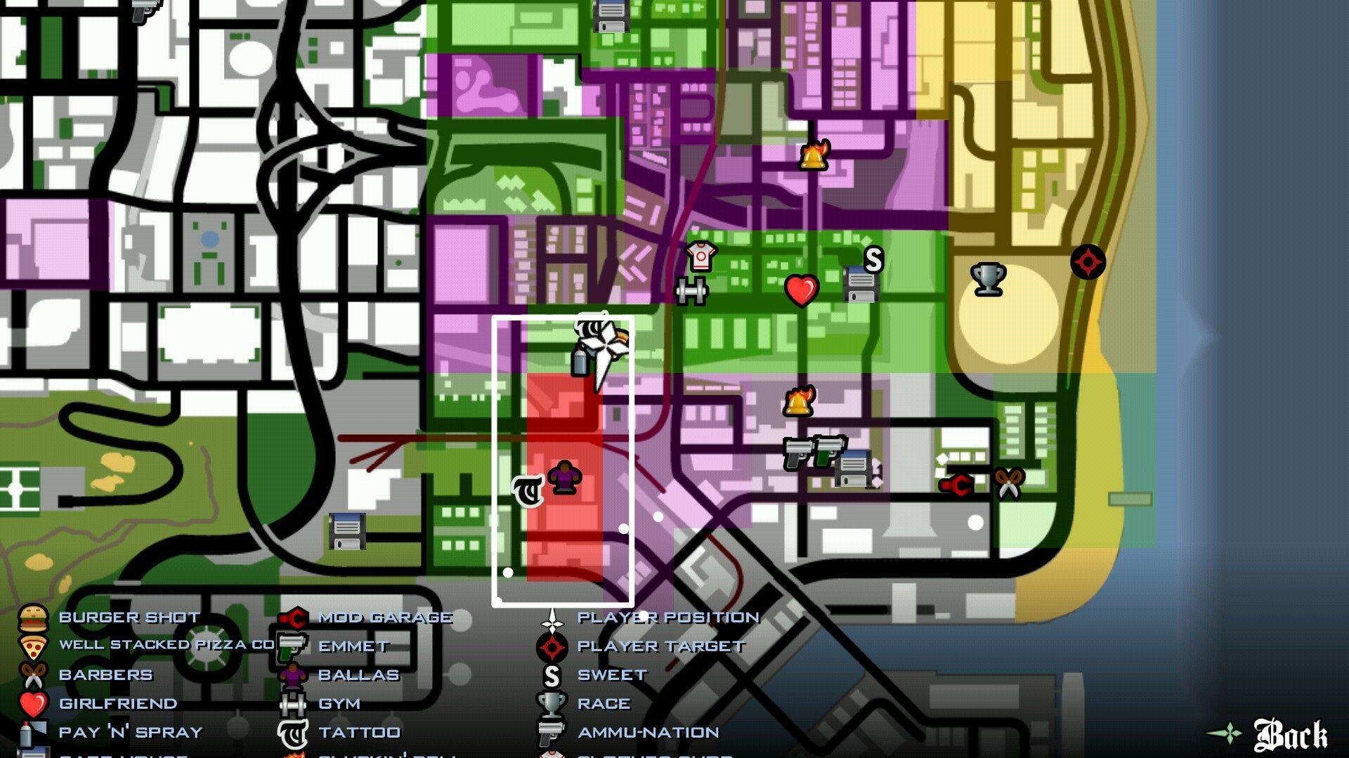 GTA San Andreas Gang Territory Under Attack