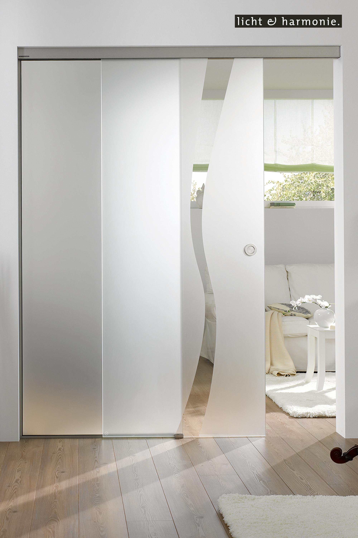 Tvin Als Zwischen Wand Montage Glasschiebetur Schiebe Tur Holzschiebeturen