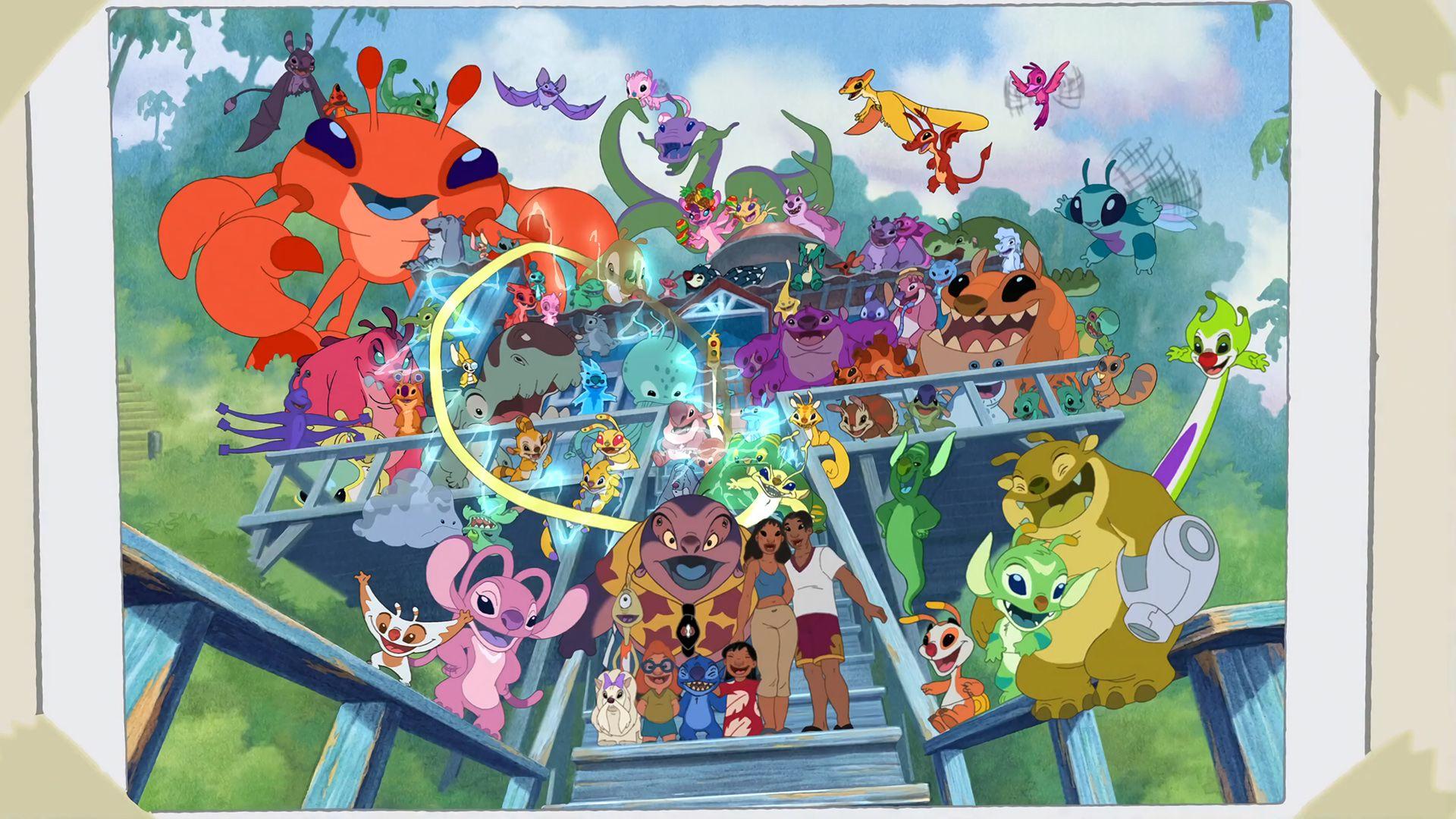 Lilo & Stitch. The Series image Lilo and stitch