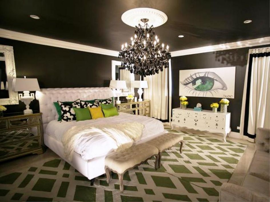 Small Chandeliers for Bedroom Interior Design