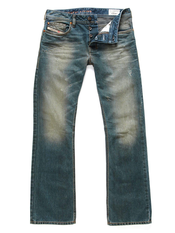 Diesel  Zatiny Micro Bootcut Jeans  4d974e395