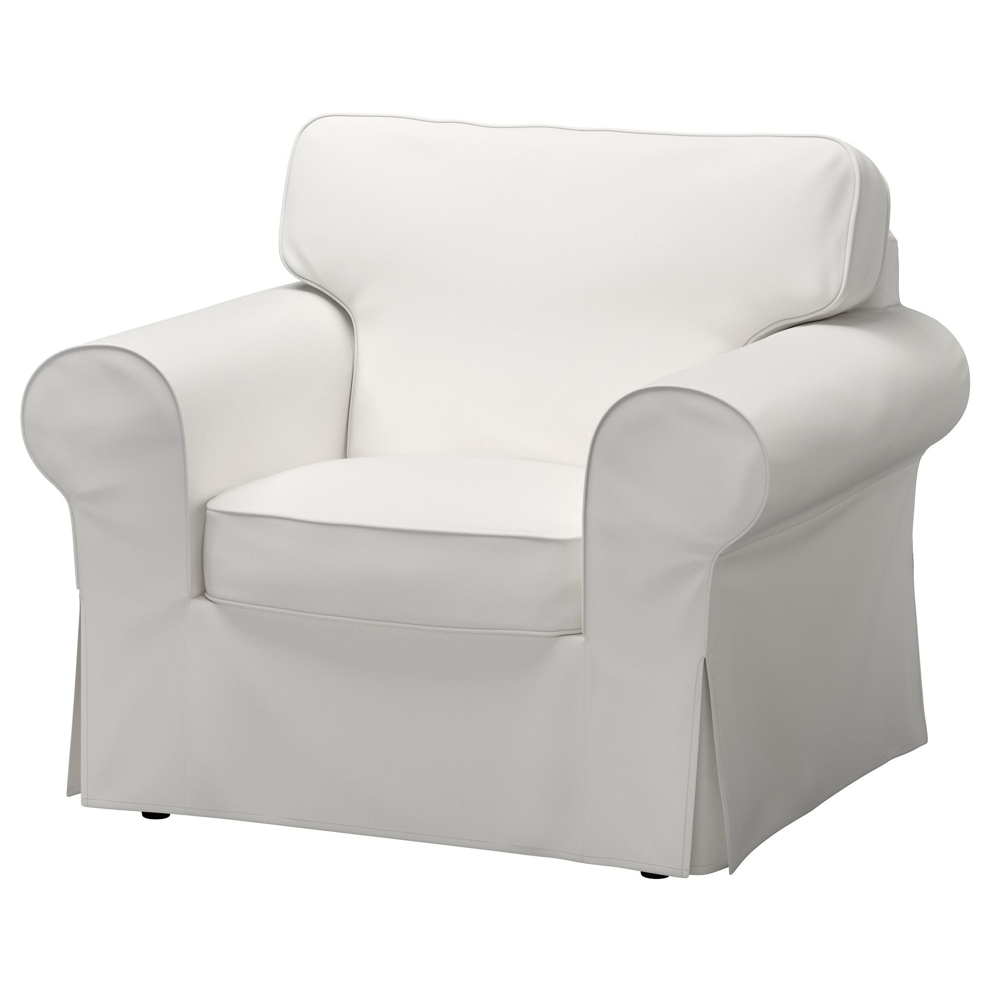 Ektorp Armchair Vittaryd White Slipcovers For Chairs