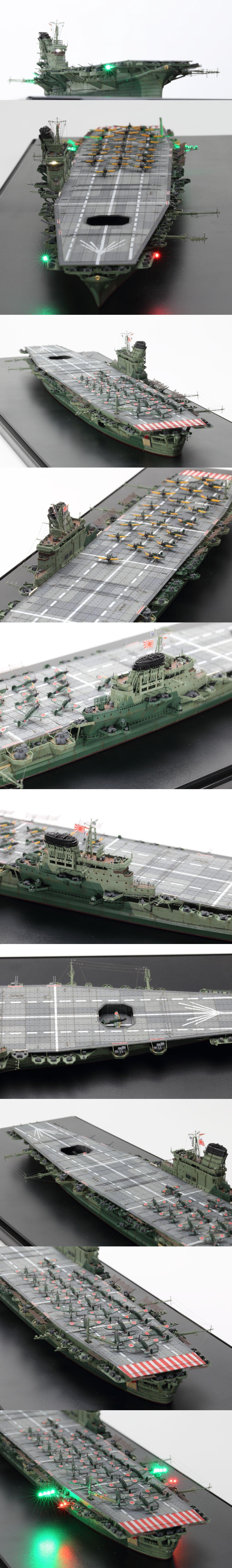 1 700 日本海軍航空母艦 信濃 完成品 タミヤ ヤフオク 航空母艦