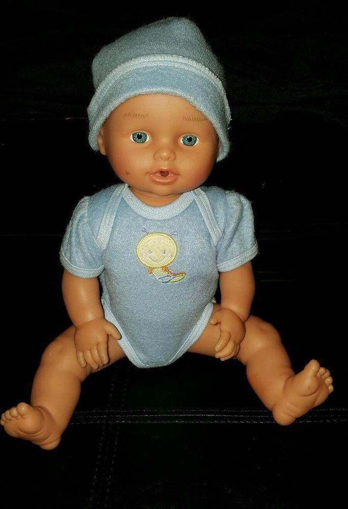 Lotus Anatomically Correct Baby Boy Interactive Doll Laughs Cries