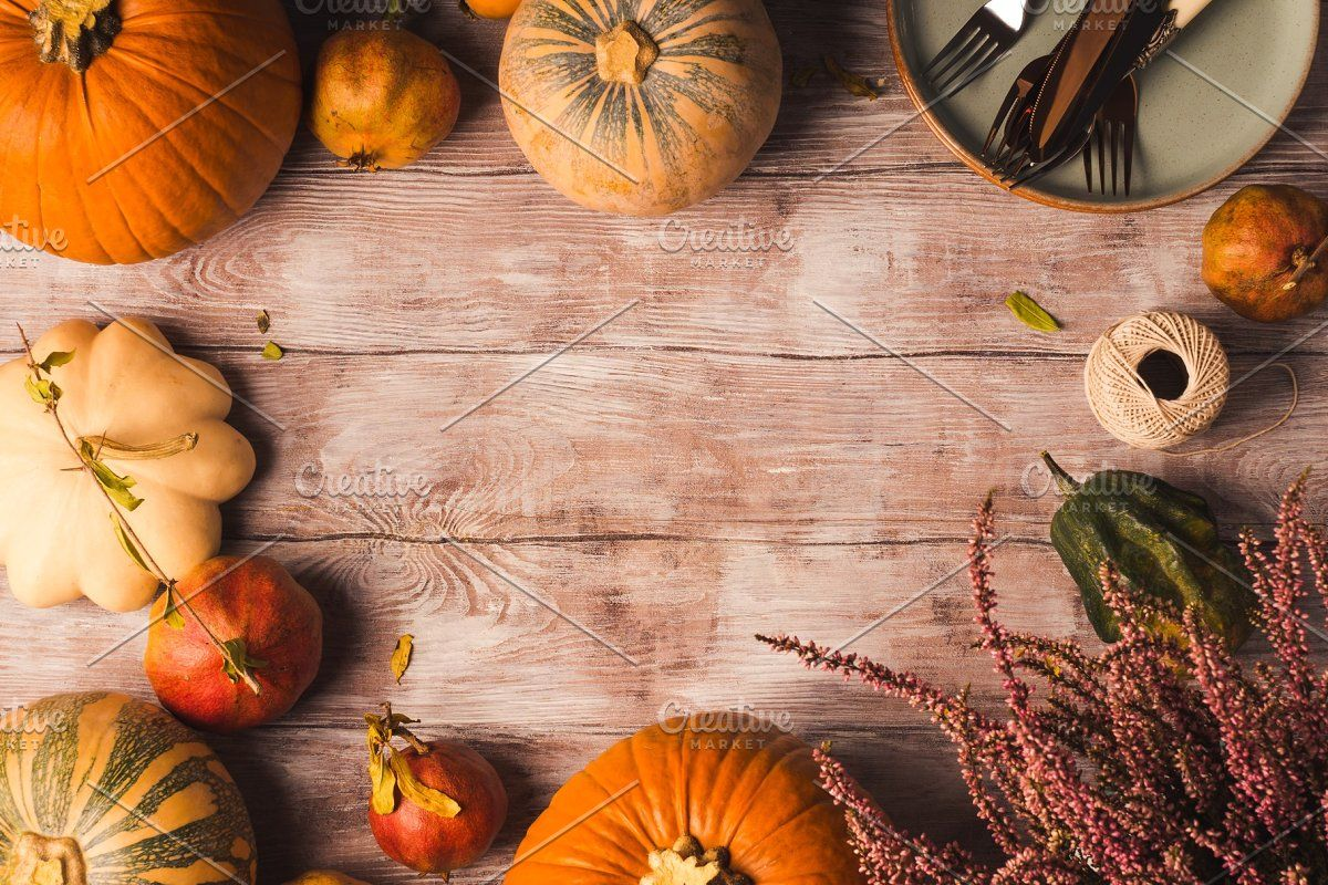 Autumn Thanksgiving Moody Background In 2020 Fall Fruits Thanksgiving Background Pumpkin