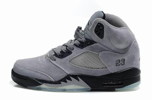 99b1f50fe7c8 discount air jordan retro 5 fur womens shoes grey b07b6 f7a26