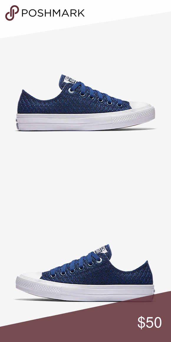 Converse Lunarlon Insole For Sale Converse All Star Ii Spacer Mesh Low Top Blue 5 5 Nwt Converse