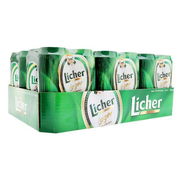 Bia Licher 4,9% - Lon 500ml - Thùng 24 Lon
