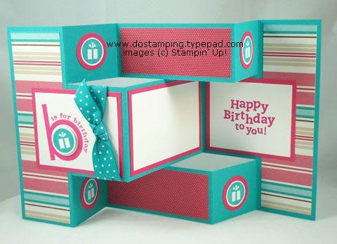 ScrappyGrams Designs Silhouette TriFold Shutter Card – Tri Fold Card