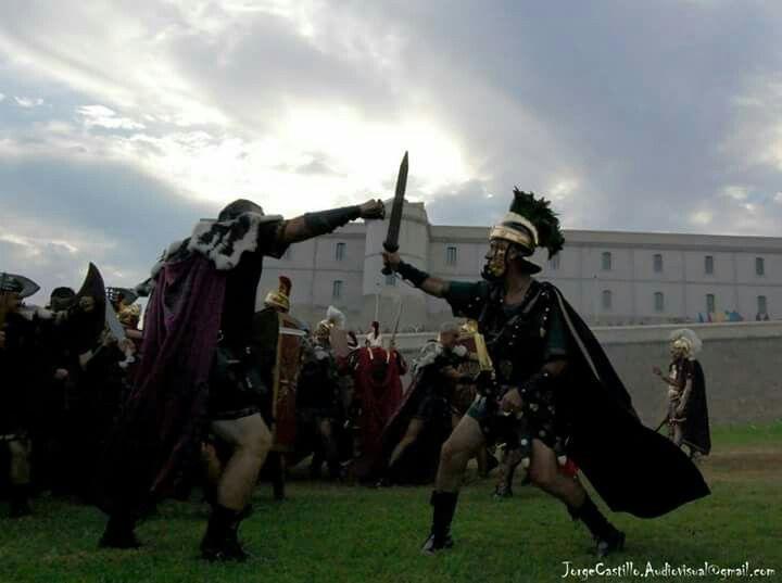 Carthagineses y Romanos. Batalla de Qart-Hadast