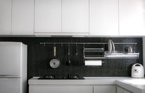 Until we can get the dishwasher. Via houzz, of course.