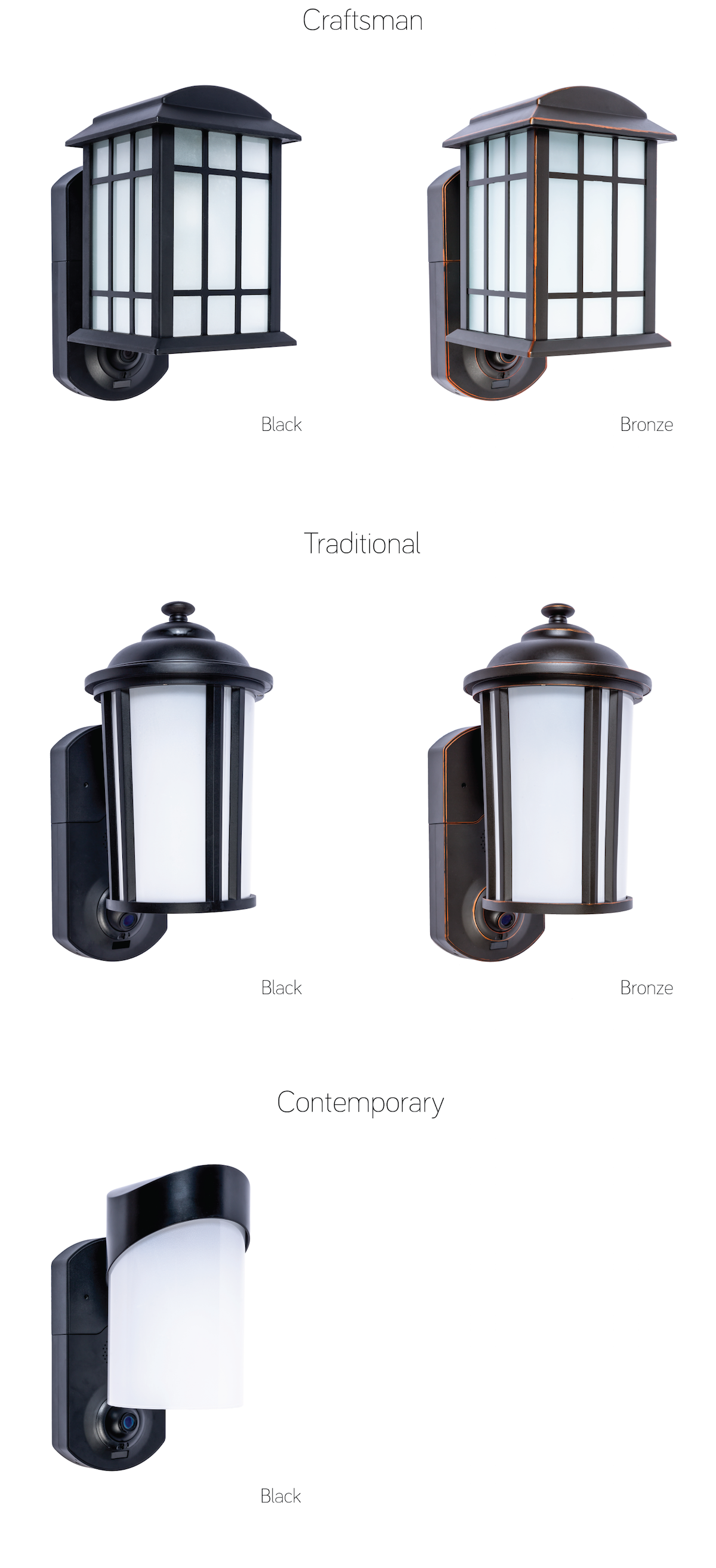 Kuna: Security webcam built into porch light with an integrated app ...