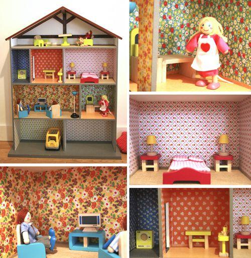 vos cr ations kiddos mouse house meuble en carton. Black Bedroom Furniture Sets. Home Design Ideas