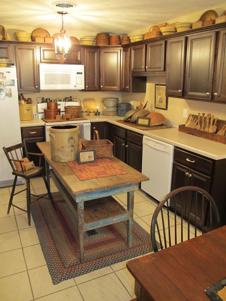 My Lifeboat Part 3 Primitive Kitchen Decor Kitchen Design Decor Rustic Kitchen