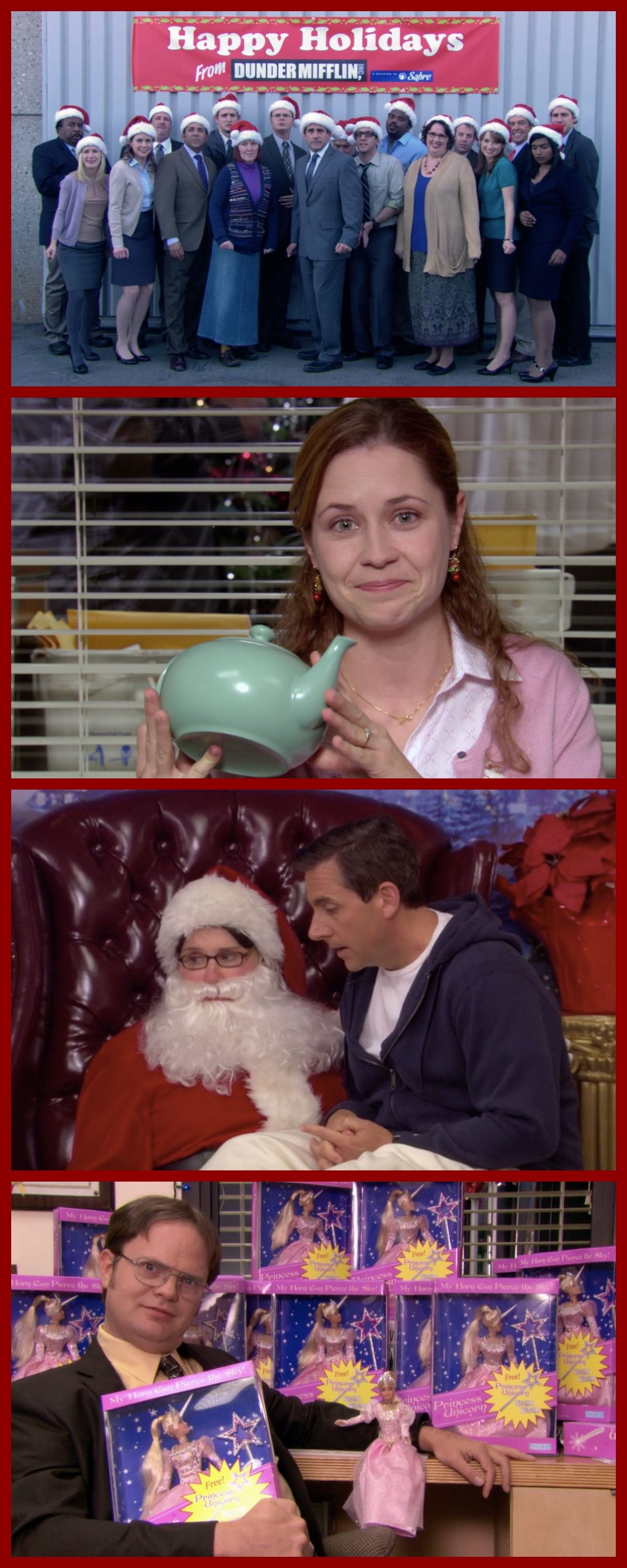 The Office: Every Christmas Episode Ranked! | Pinterest | Christmas ...