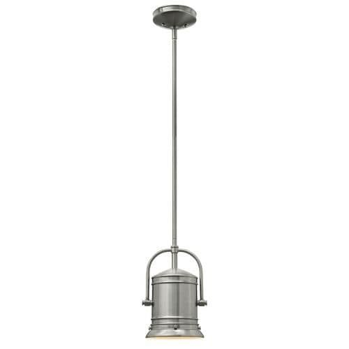 Hinkley lighting 3254 gu24 1 light 7 25 width title 24 fluorescent mini pendant from the