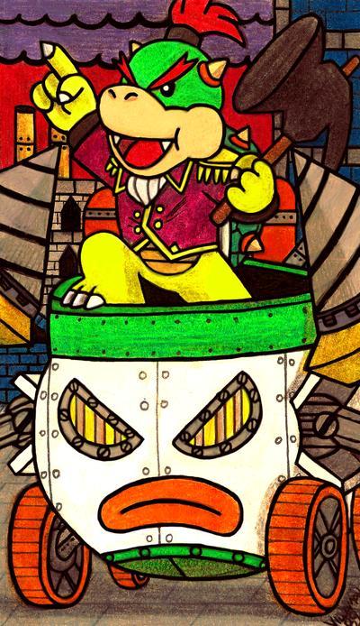 Mushroom Steampunk Bowser Jr By Villaman89 On Deviantart Cartoon Wallpaper Bowser Dc Comics Art