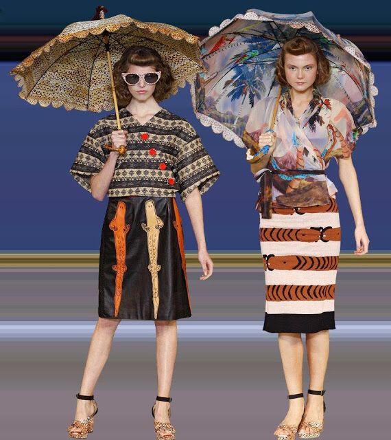 TSUMORI CHISATO's Umbrella Spring 2012 Womenswear Haute Couture Parasol Costa Rica Umbrella for $506!!