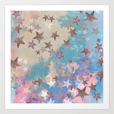 Starry Eyed Art Print by Nikkistrange - $12.48