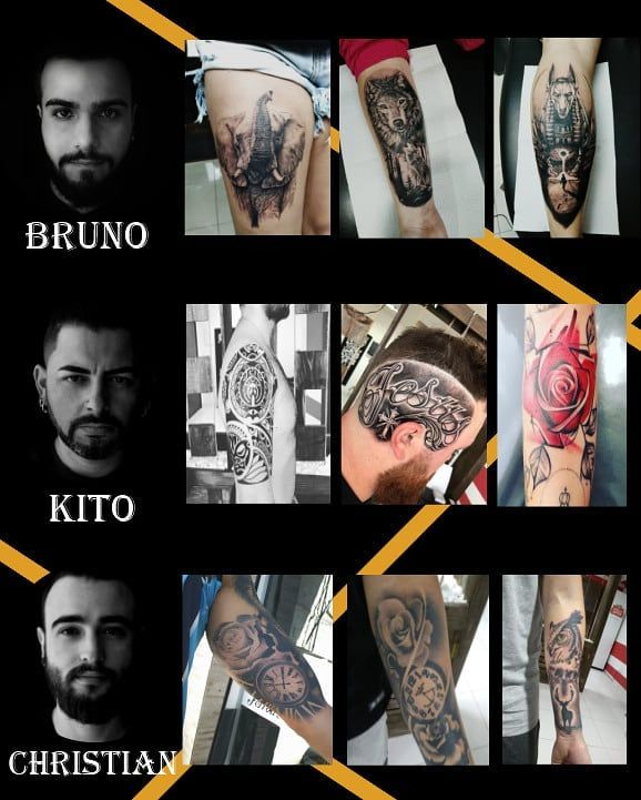 Já conhece os artistas do Studio Tattooist?! Segue aí! ✓@rocha.tattoo ✓@kito.. ✓@cristian  Fica ligado que na próxima semana tem novidades! *Exclusiva para AS seguidoras*  #tattooartist #tattoo2me #studiotattoo #tattooist #tätowierer #tattoo #tatuadorportoalegre #tattoopoa #tattoos #tattoopoars #tatuaje #amazingink #inktattoostudio #tattoosociety #tattooers