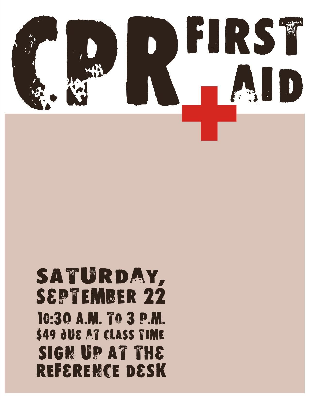 Cpr Flyer Marketing Idea Love This Or Even A Blood Drive