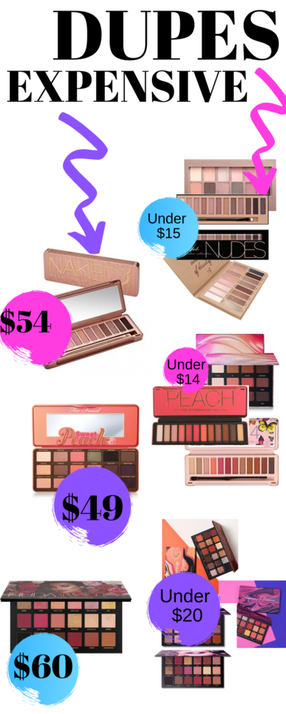 3 Eyeshadow Palettes Dupes To Choose Over The Expensive