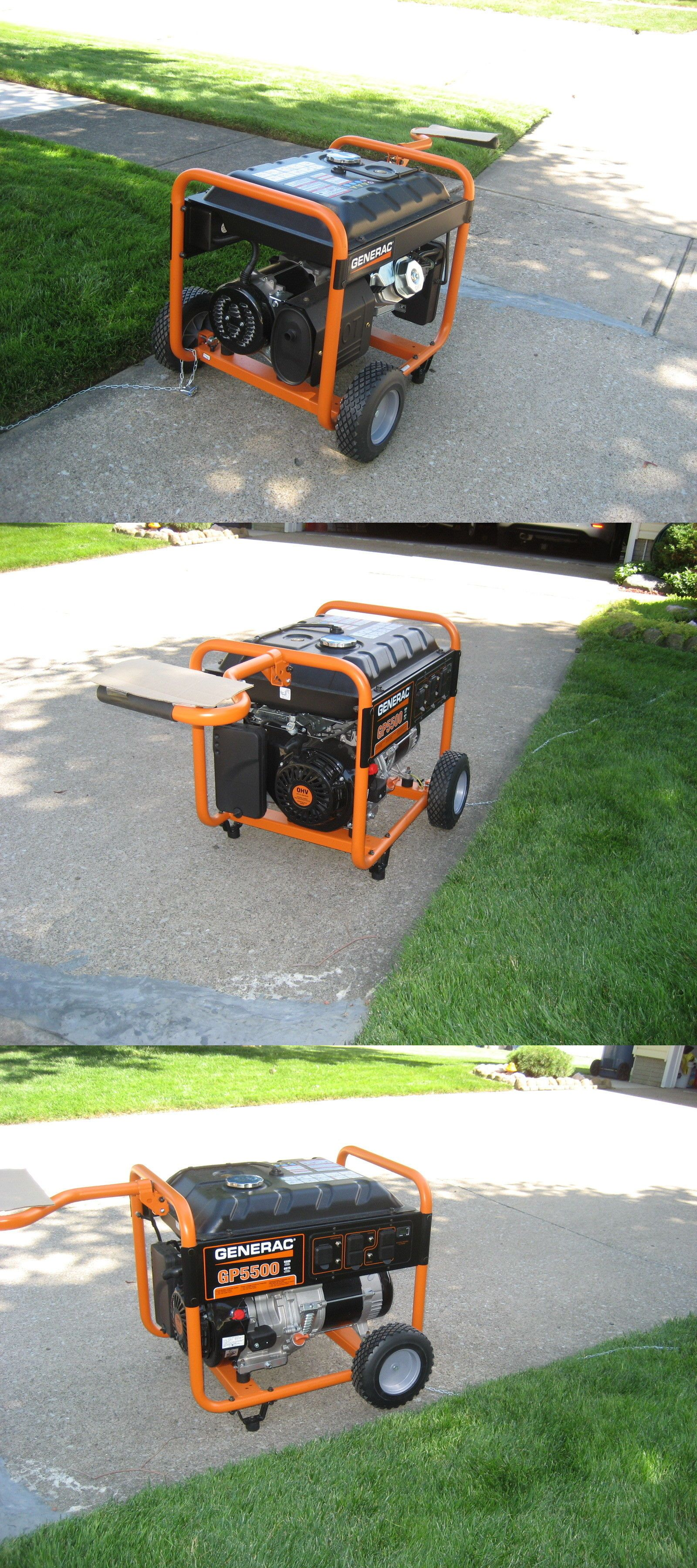 Generators New Generac Gp5500 6875 Watts Portable Generator