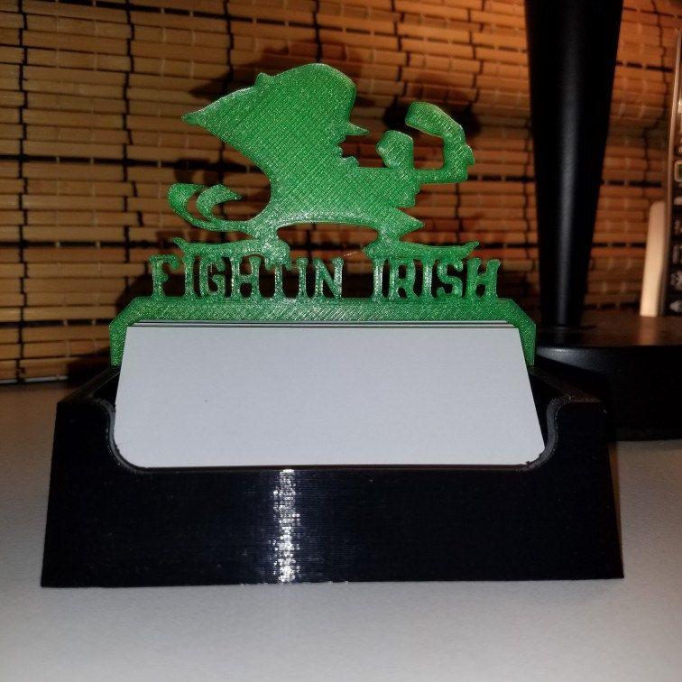 University Pride Series Notre Dame Fighting Irish Logo Business ...