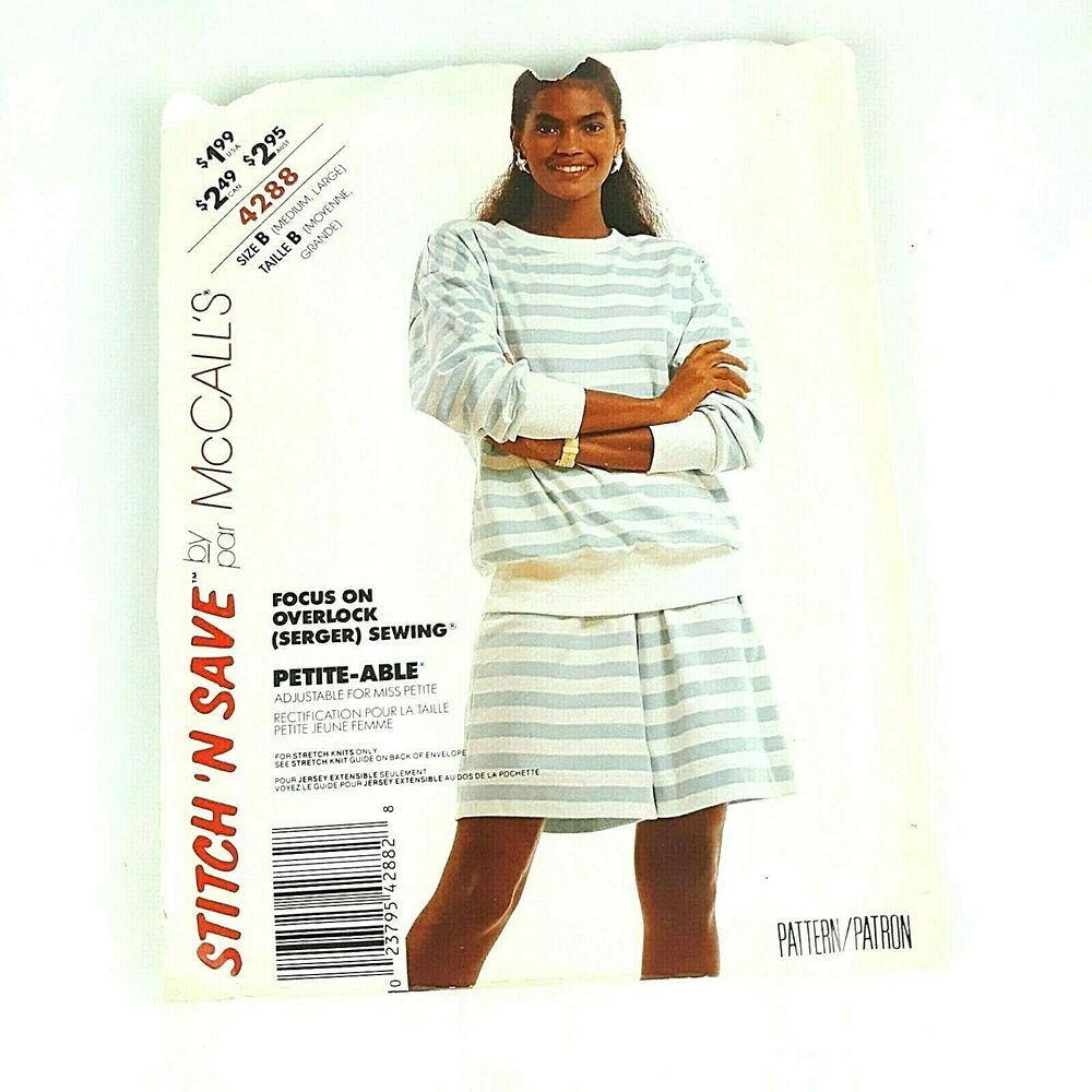 See /& Sew 5517 Misses/'//Miss Petite Top and Pants  Sewing Pattern