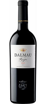 DALMAU , Vino tinto Rioja , reserva 2009. 74% Tempranillo, 15% Cabernet Sauvignon, 11% Graciano.
