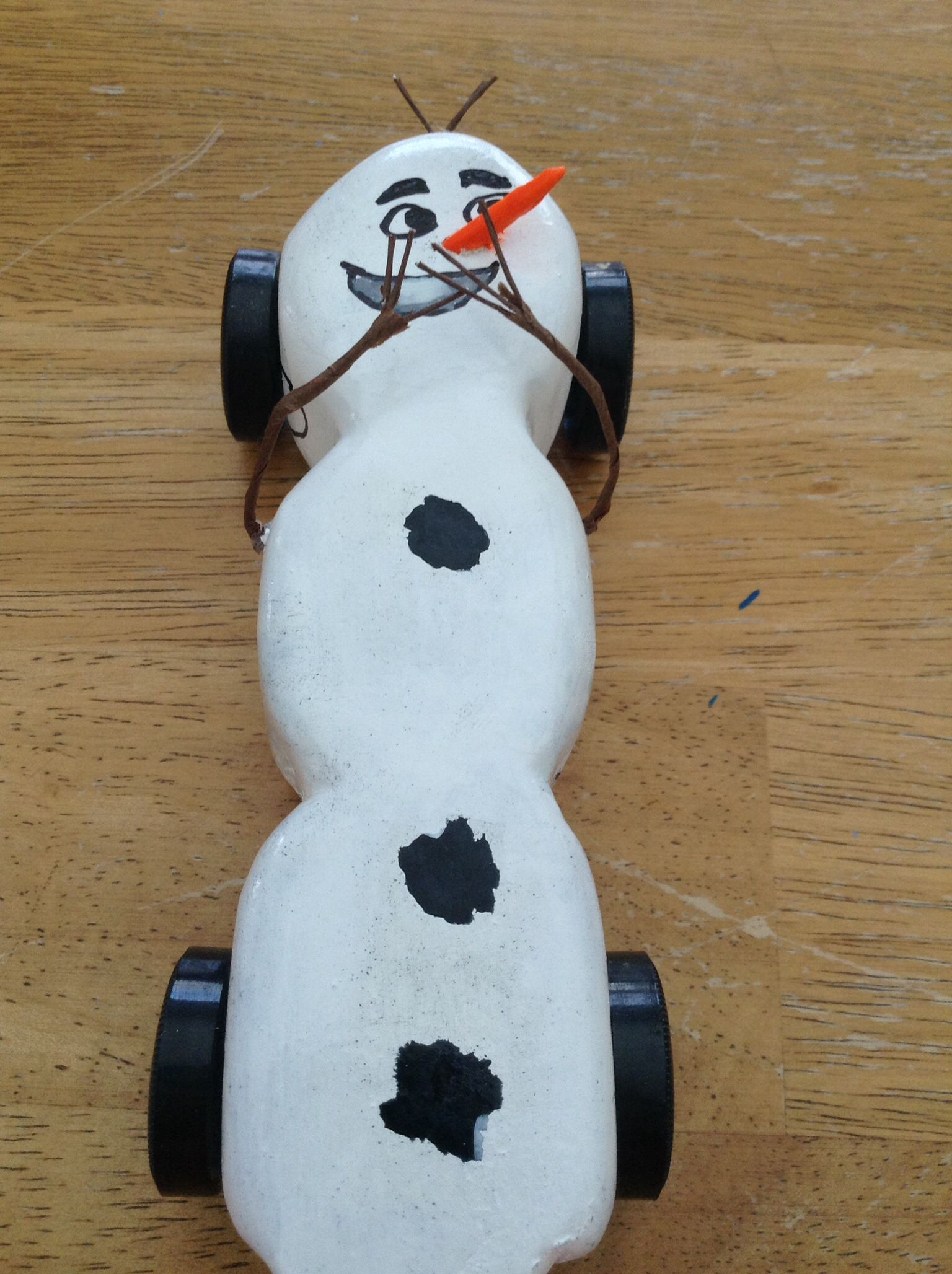 Olaf Race Car