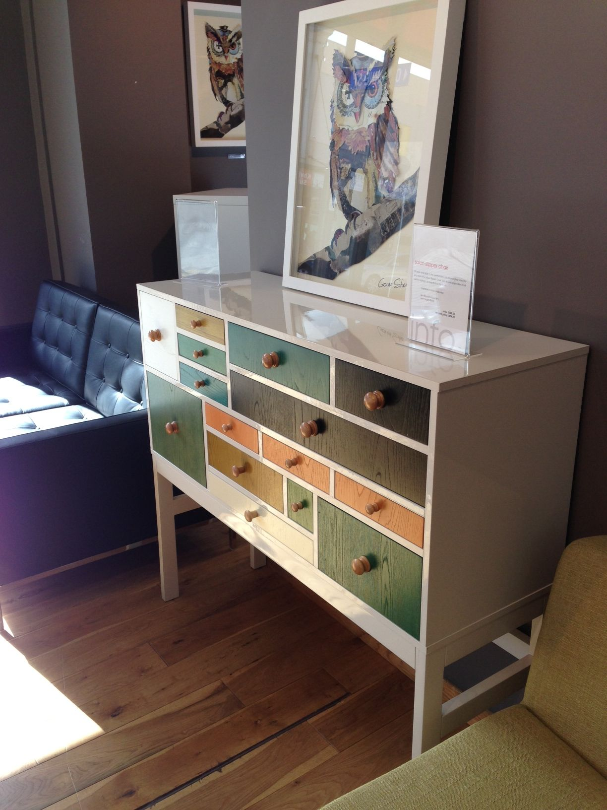 Multi Coloured Chest Of Drawers Home Decor Decor Chest