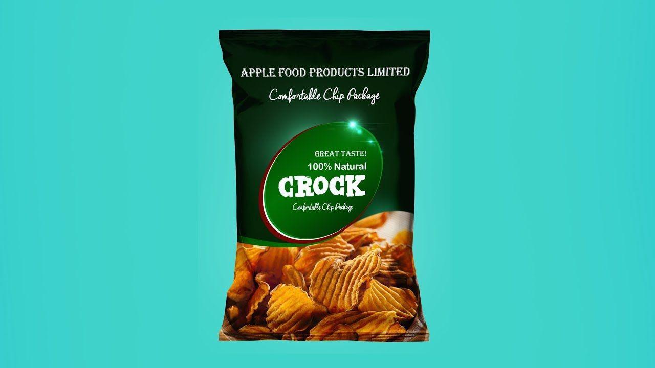 Download Snack Pack Chips Packaging Design Photoshop Tutorial Chip Packaging Packaging Design Snack Packs