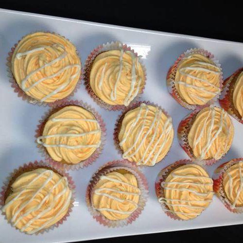Creamy Orange Dream Cupcakes Gluten Free Vegan Dairy Free Dairy Free Dairy Free Treats Vegan Cupcakes