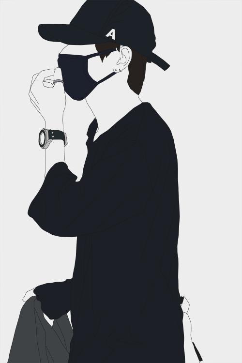 Line Art Kpop : Kim taehyung line art google search bts ️ pinterest