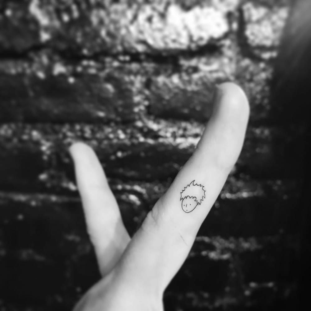 The little prince tattoo on the finger tattoo artist ok tattoos