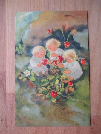 Künstler-AK Mili Weber - Beerenkinder - 31.01.2017 18:56:00 - 1