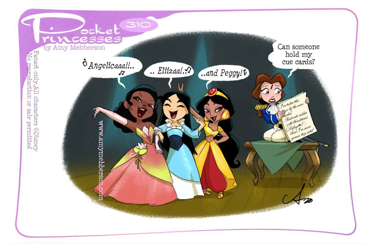 pocket princess comics