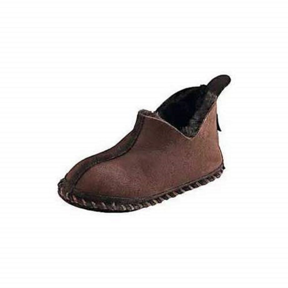 9191aa3cc NIB CABELA'S Women's Shearling Wool & Suede Slippers New Lined 8M Chocolate  #CABELAS #MoccasinSlippers