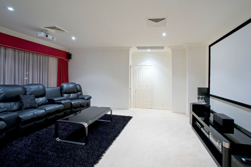 Home projection | Home Theater Installation | Pinterest | House