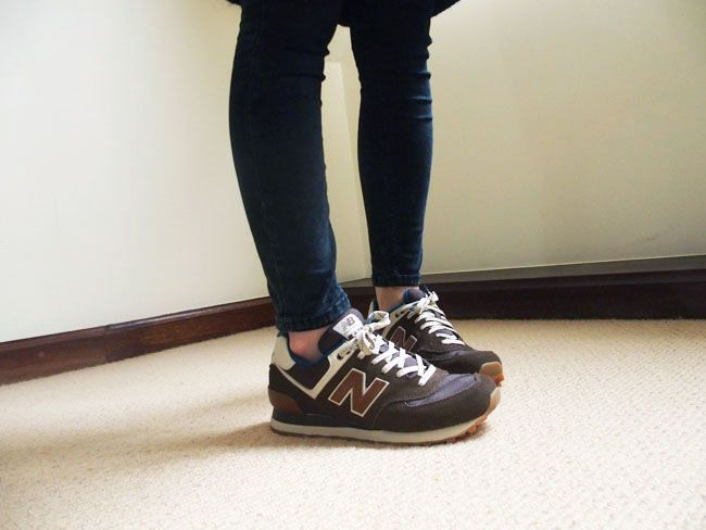 new balance 574 outfit