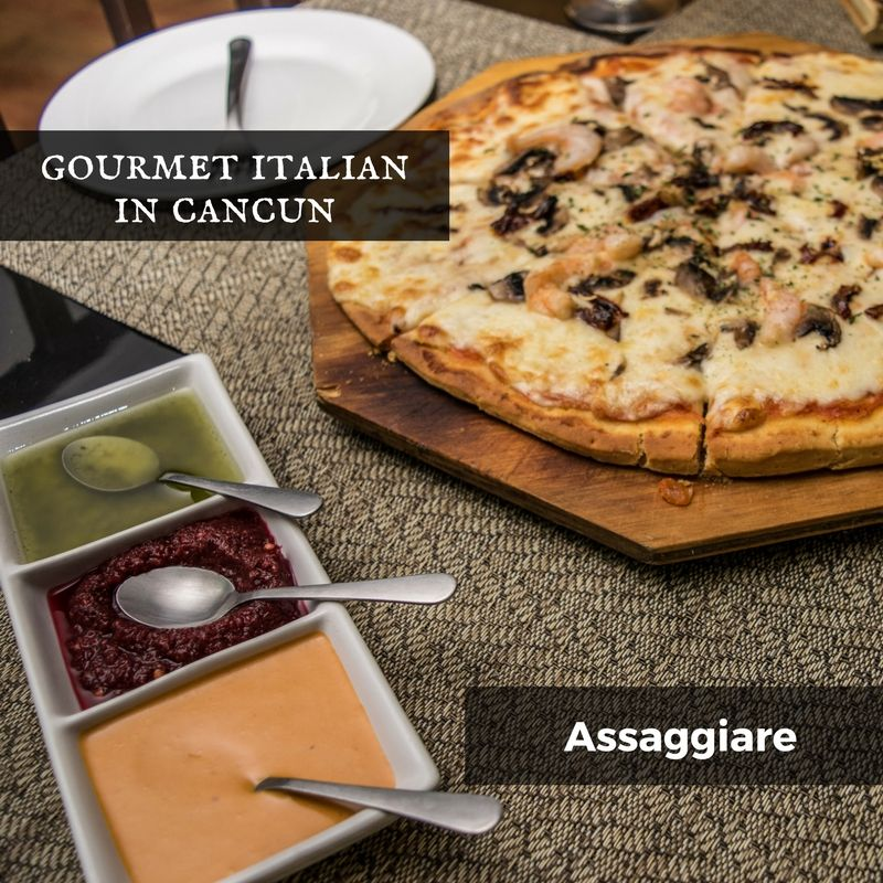 Join us as we uncover the family-owned Italian restaurant Assaggiare serving gourmet pizza and pasta in downtown Cancun.