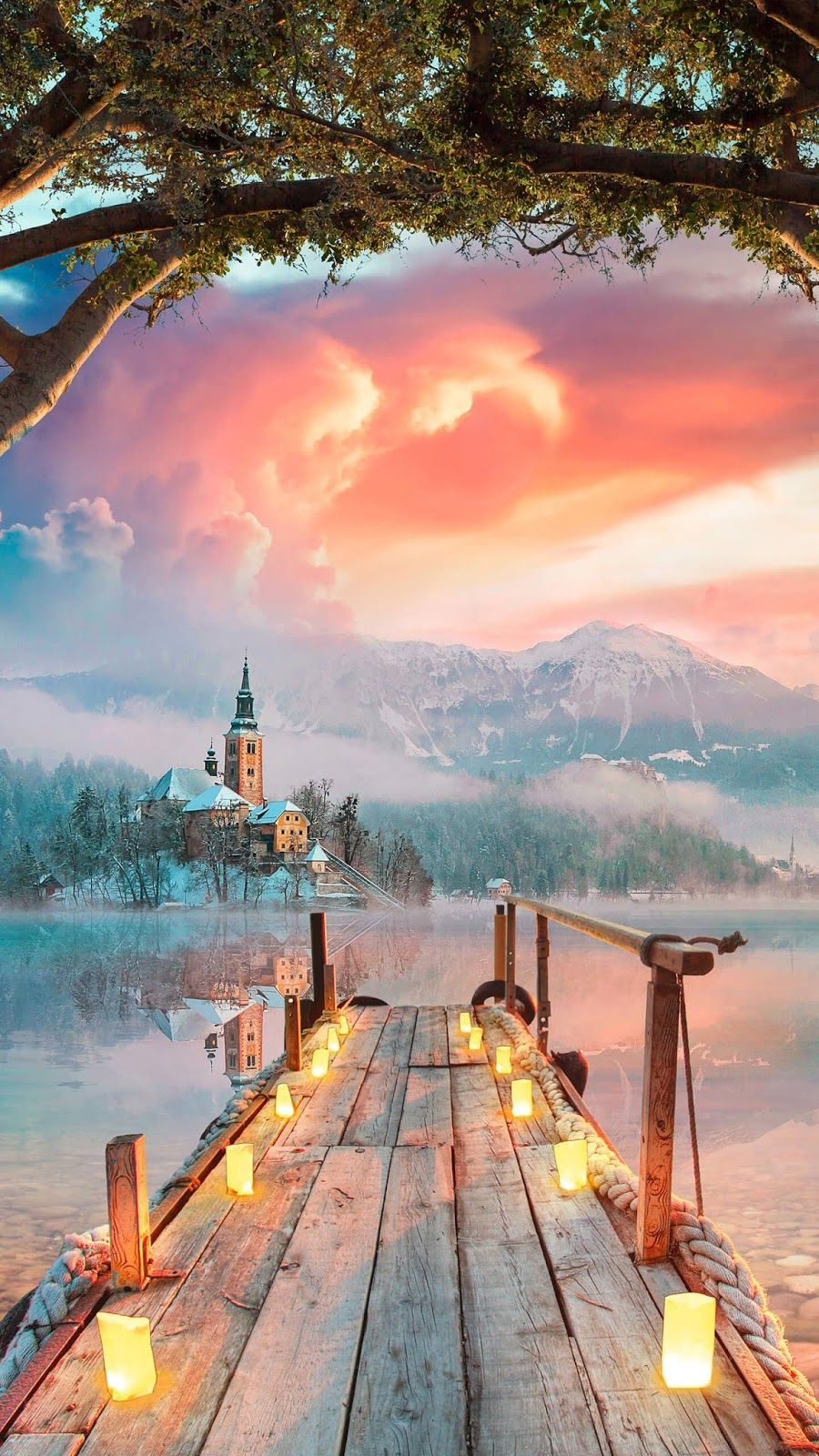 Enchanted Scenery Wallpaper Iphone Android Background Followme Scenery Wallpaper Scenery Beautiful Wallpapers For Iphone