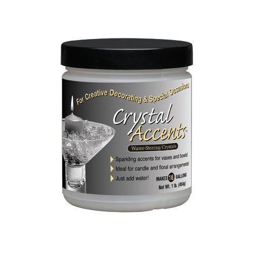 Pink Gel Water Crystals 1 Pound Vase Bowl Filler 1Lb Jar Makes 16 Gallons