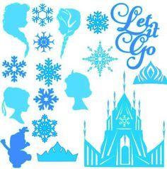 Frozen Castle Printable Google Sok Frozen Silhouette Frozen Ornaments Frozen Castle